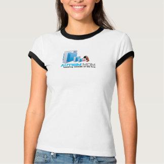 Autism Mom Ladies Ringer T-Shirt