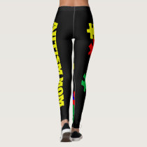 Autism Mom - Leggings