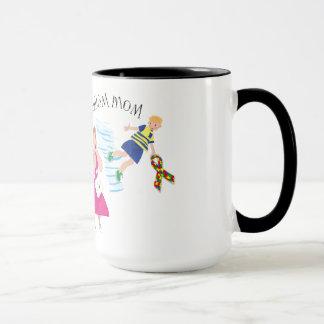 Autism Mom Ringer Mug