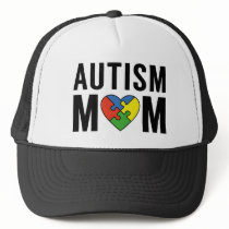 Autism Mom Trucker Hat