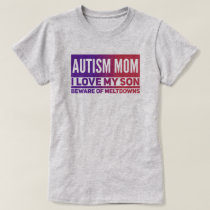 Autism Mom  - Women's Basic T-Shirt