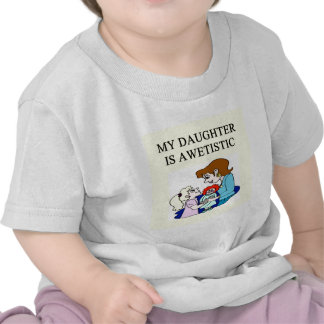 autism mother of autistic daughter t-shirts