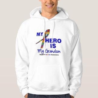 Autism My Hero is My Grandson Hoody