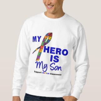 Autism My Hero is My Son Sweatshirt