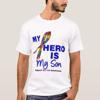 Autism My Hero is My Son T-Shirt