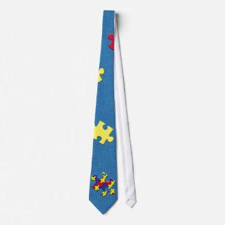 Autism Neck Tie