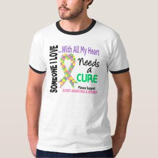 Autism Needs A Cure 3 (Pastel) T-Shirt