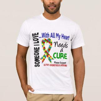 Autism Needs A Cure 3 T-Shirt