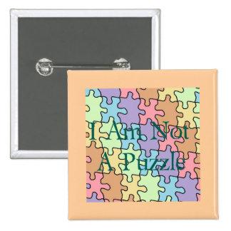 autism not a puzzle 1 button