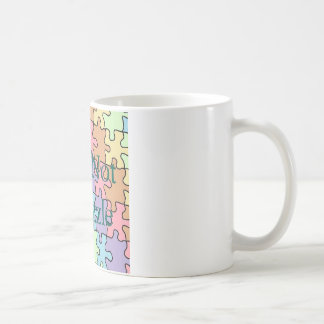 autism not a puzzle 1 coffee mug
