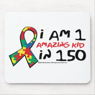 Autism: One Amazing Kid Mouse Pad