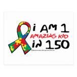 Autism: One Amazing Kid Postcard