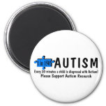 Autism One Every 20 Minutes Refrigerator Magnet