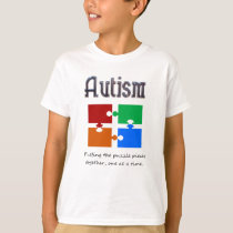 Autism one puzzle piece at a time T-Shirt