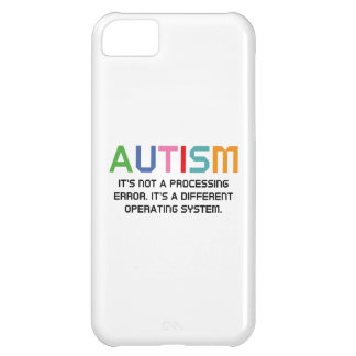 Autism Operating System Case For iPhone 5C
