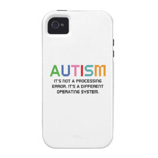 Autism Operating System iPhone 4 Covers