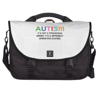 Autism Operating System Computer Bag