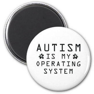 Autism Operating System Magnet