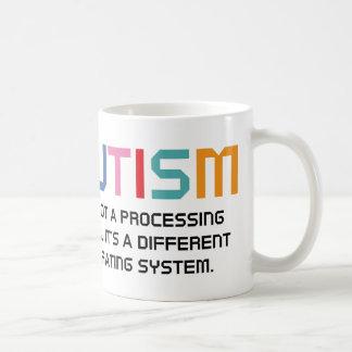 Autism Operating System Coffee Mug