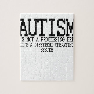 Autism Operating System '.png Jigsaw Puzzle