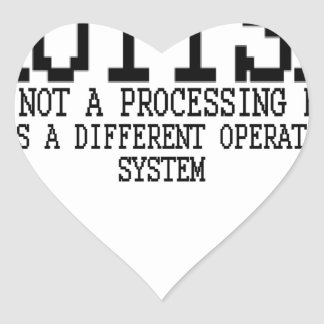 Autism Operating System '.png Heart Sticker