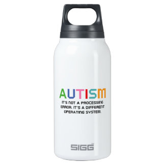 Autism Operating System Thermos Water Bottle