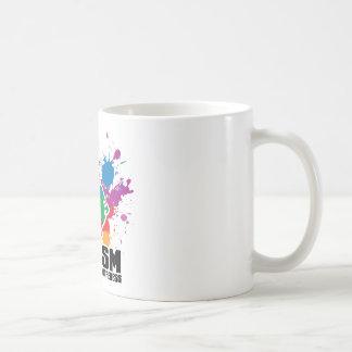 Autism Paint Splatter Coffee Mug