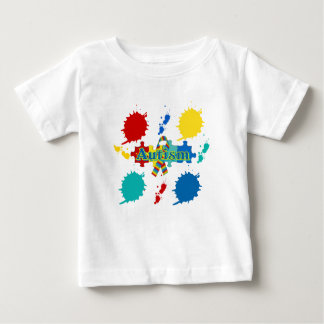 Autism painted t shirts