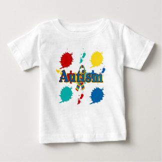 Autism painted infant t-shirt