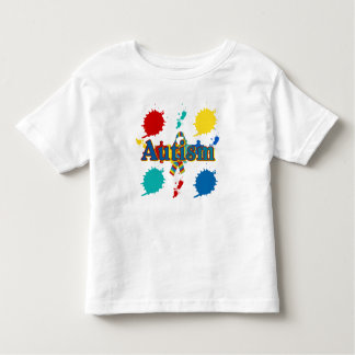 Autism painted t-shirts