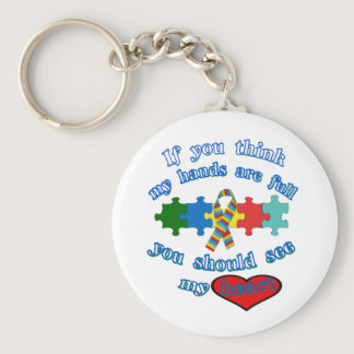 Autism Parent Keychain