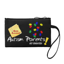 key, coin, clutch, autism, education, school, children, parents, mom, dad, [[missing key: type_bagettes_ba]] with custom graphic design