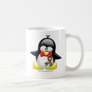Autism Penguin Coffee Mug