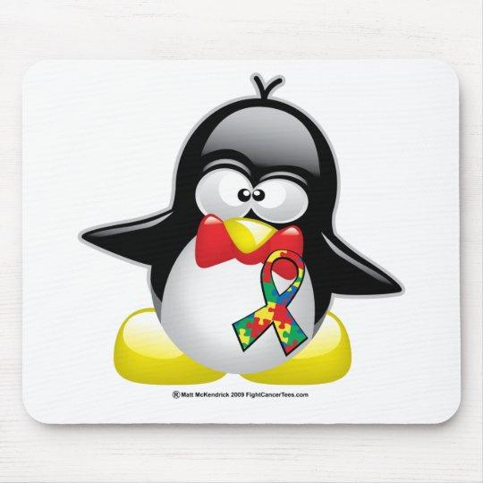 Autism Penguin Mouse Pad