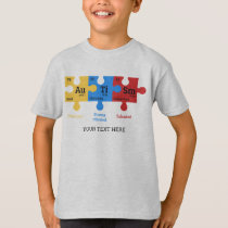 Autism Periodic Table Elements T-Shirt