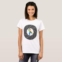 Autism Photography T-Shirt