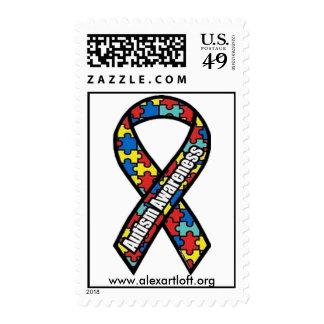 Autism Postage Stamp