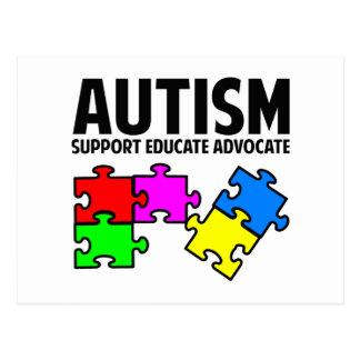 Autism Postcard