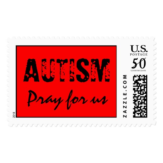 AUTISM, Pray for us Postage