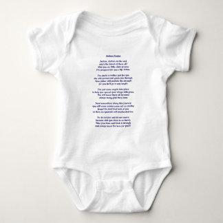Autism Prayer Baby Bodysuit