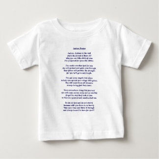 Autism Prayer Baby T-Shirt