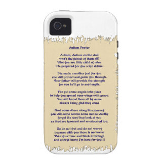 Autism Prayer Case-Mate iPhone 4 Covers