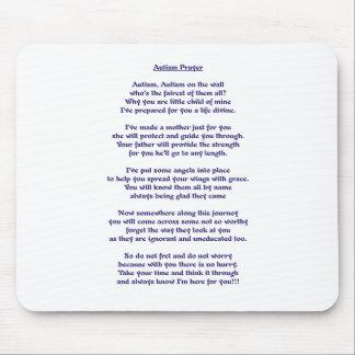 Autism Prayer Mousepad