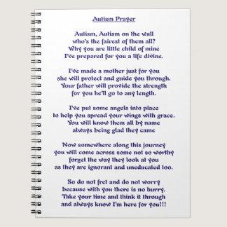 Autism Prayer Notebook