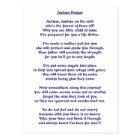 Autism Prayer Postcard