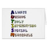 Autism Pride Cards