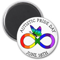 Autism Pride Day June 18th Magnet