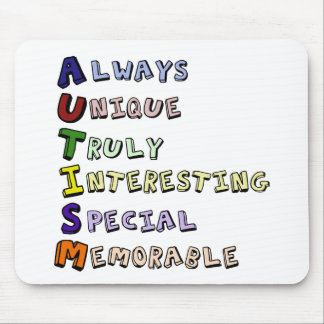 Autism Pride Mouse Pad