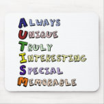 Autism Pride Mouse Pads