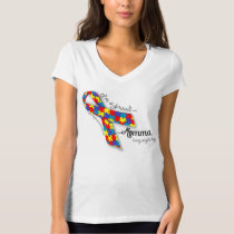 Autism Pride - Proud Momma T-Shirt